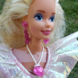 1992 Secret Hearts Barbie With Sparkly Gown
